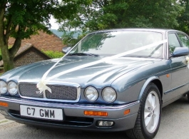 XJ6 Jaguar for weddings in Bromley